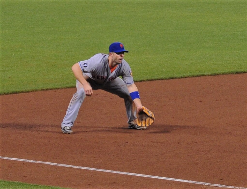 David Wright: dealt a hand, forced to play it
