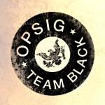 OPSIG Team Black medallion